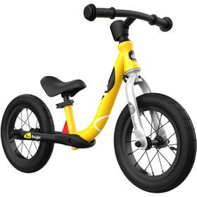 "RoyalBaby Run Knight Bici senza pedali in lega 12"" Bambino, giallo"